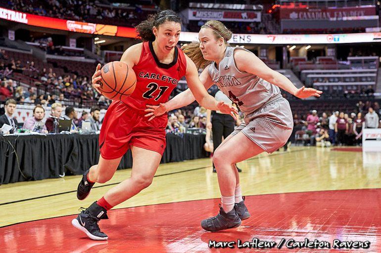OUA Women's Basketball - Carleton Ravens vs  Ottawa Gee-Gees