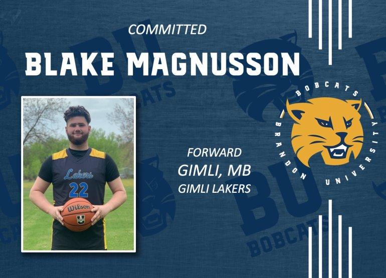 Magnusson, Blake